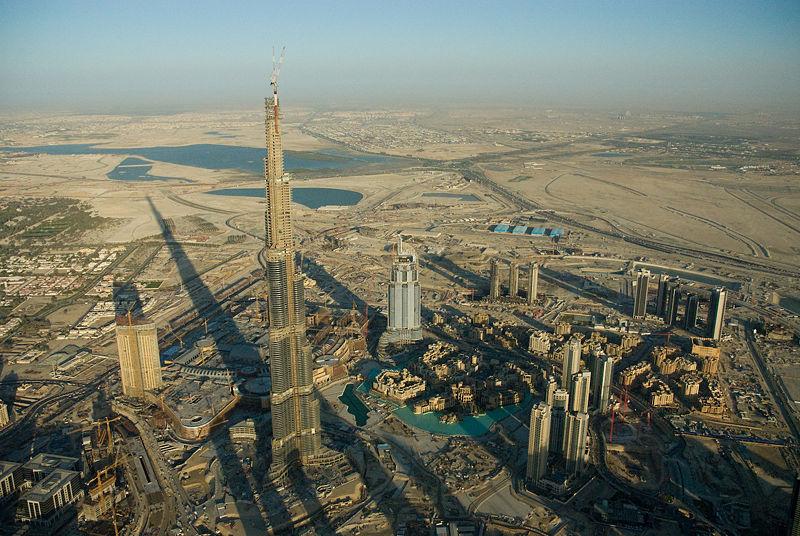 Burj Dubai, March 2008