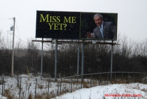 A Minnesota billboard