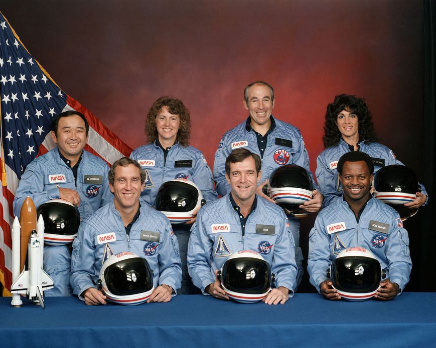 The Crew of the Space Shuttle Challenger, January 28, 1986