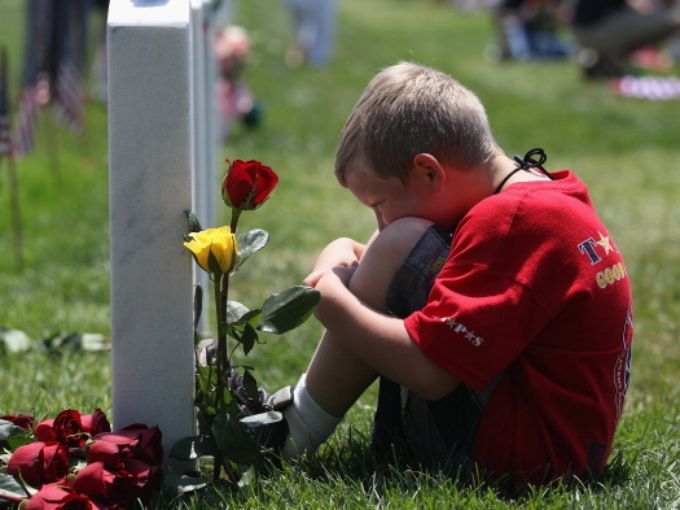 """And they who for their country die shall fill an honored grave, for glory lights the soldier's tomb, and beauty weeps the brave."" -- Joseph Rodman Drake"