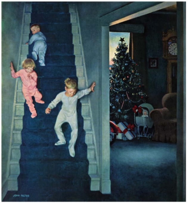 Christmas Morning by John Falter